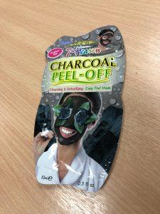 Charcoal peel-off facial mask