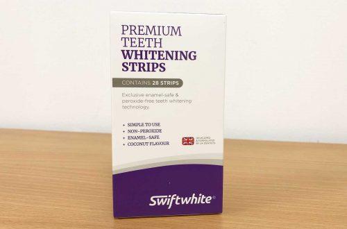 Swiftwhite Teeth Whitening Strips box