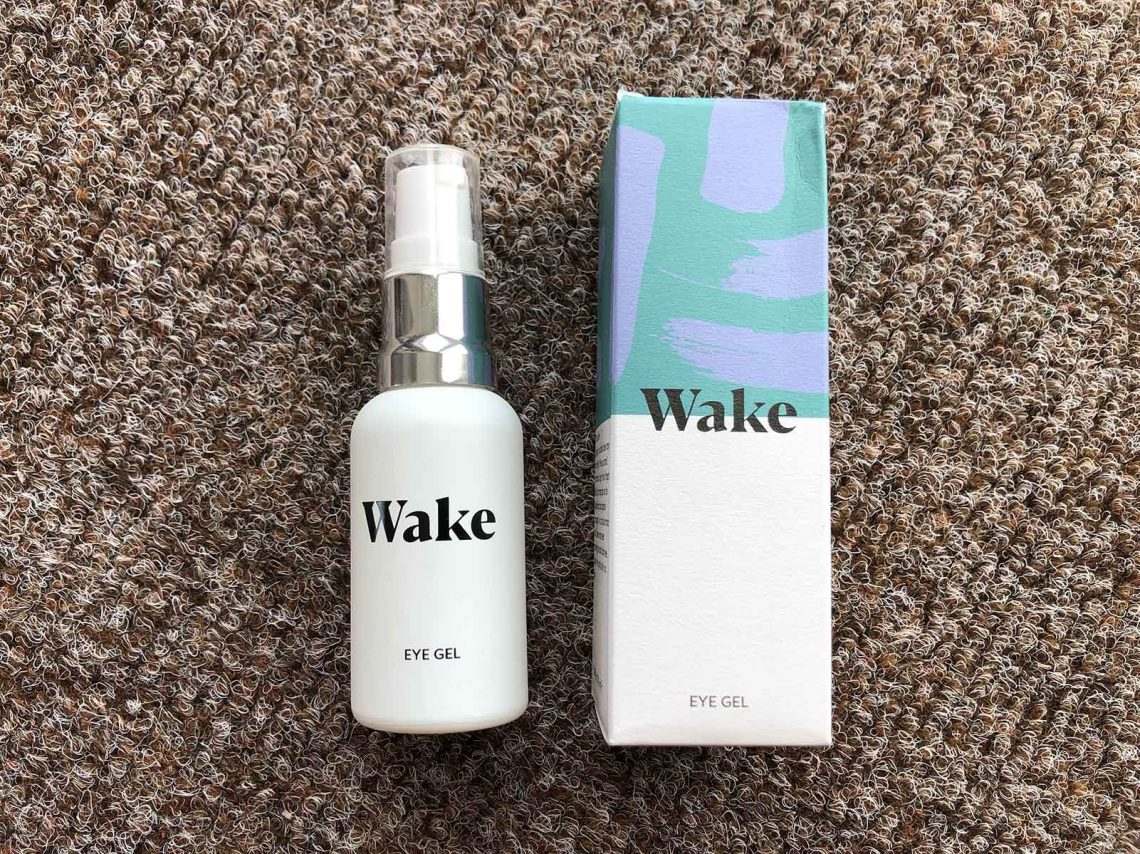 Wake skincare eye gel review