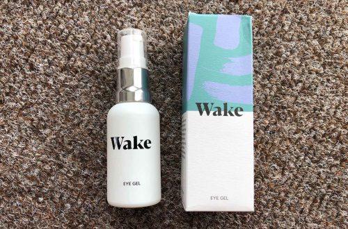 Wake skincare eye gel review