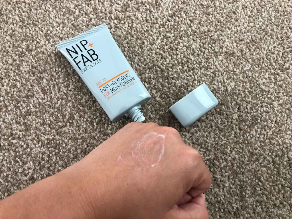 Nip and Fab Moisturiser review